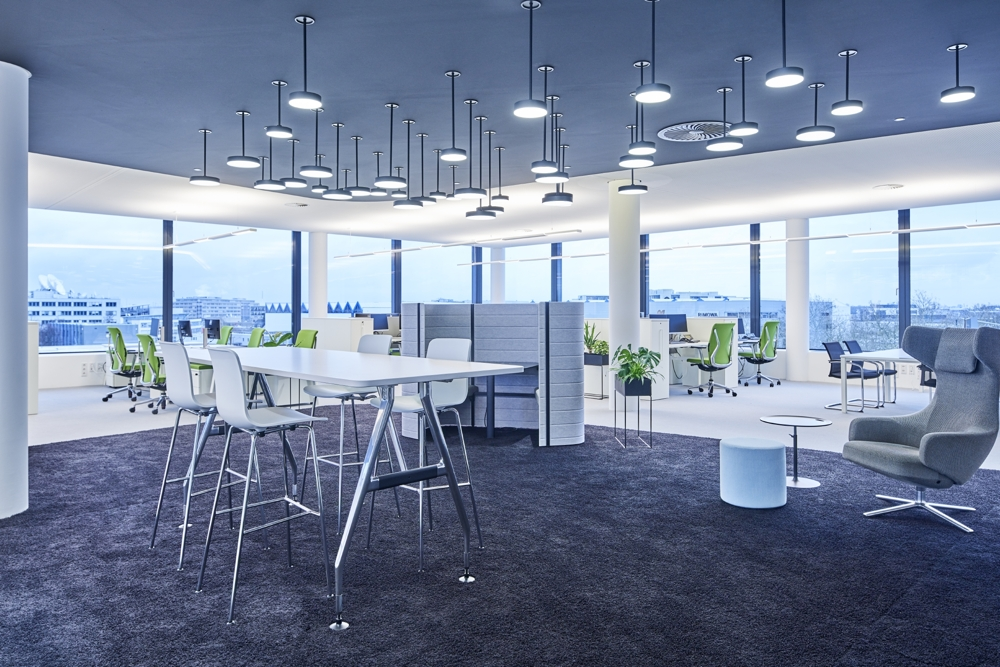 Auf dem Trilux-Campus lassen sich moderne Arbeitswelten erleben. Abbildung: Trilux