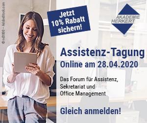 Assitenz-Tagung Online am 28.04.2020