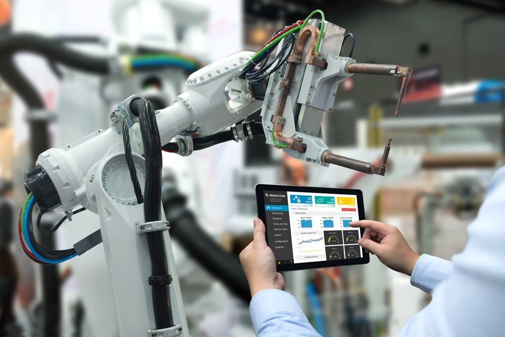 In der Industrie werden bereits über 70 Prozent der Prozesse automatisiert. Abbildung: Shutterstock
