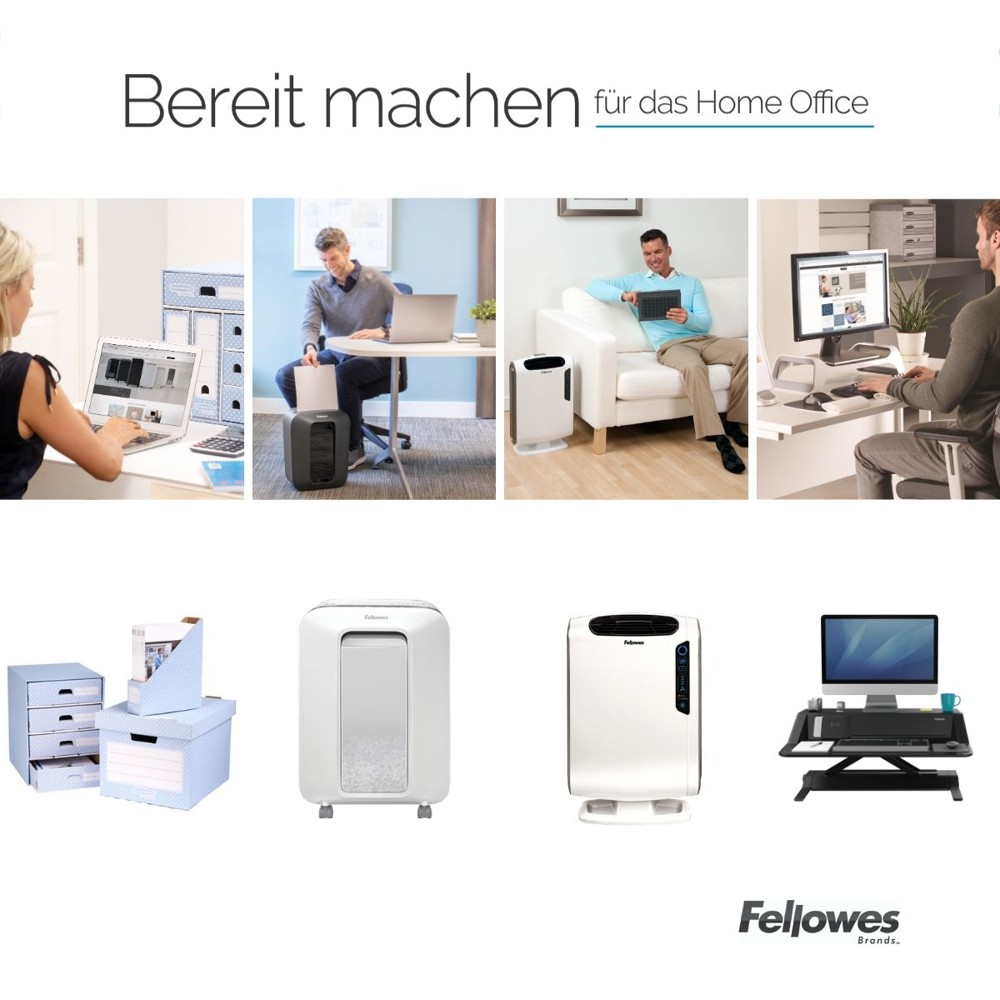 Home-Office-Lösungen von Fellowes Brands