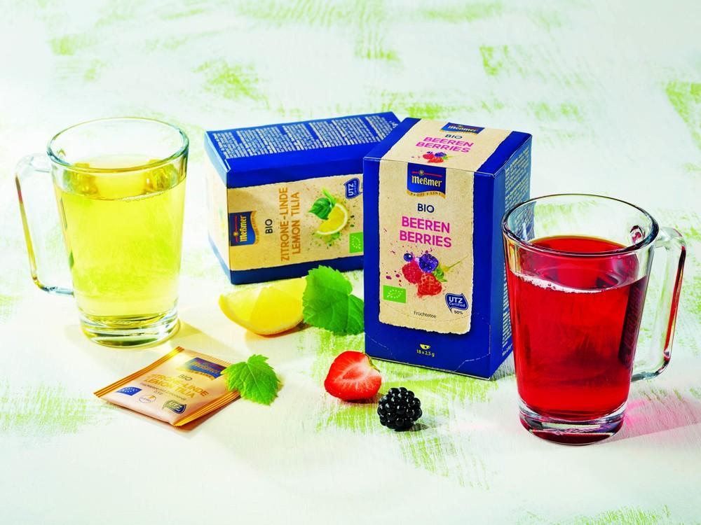 Teesortiment von Meßmer Profiline.