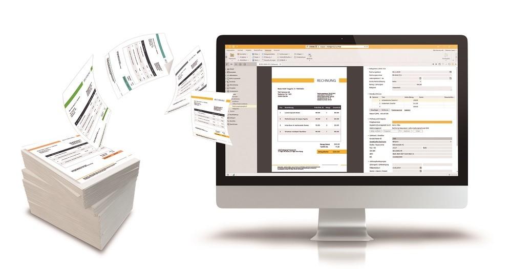 Rechnungseingang: Besser digital anstatt auf Papier