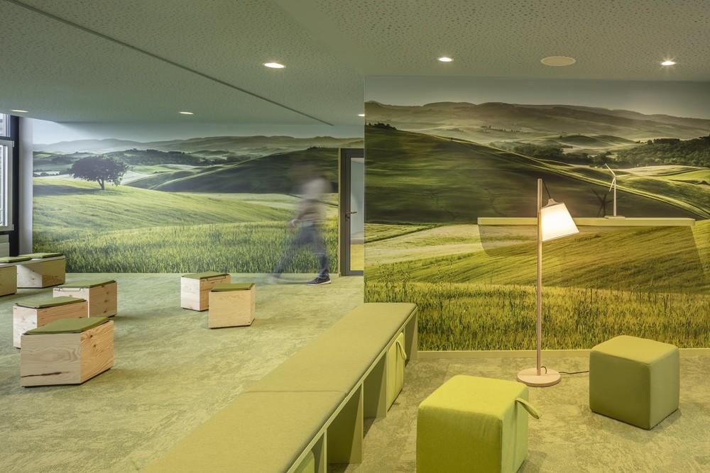 Ab ins Grüne: Projektarbeit im Idyll. Abbildung: bkp GmbH, Ralph Richter