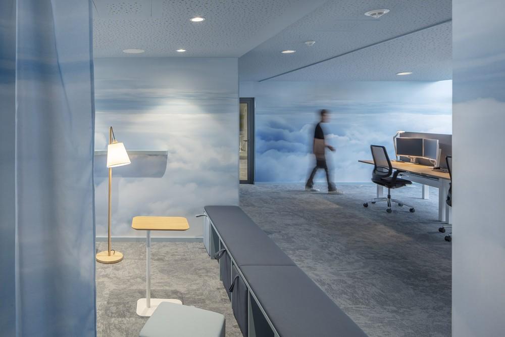 Aktive Ecken zum Austausch im Team. Abbildung: bkp GmbH, Ralph Richter