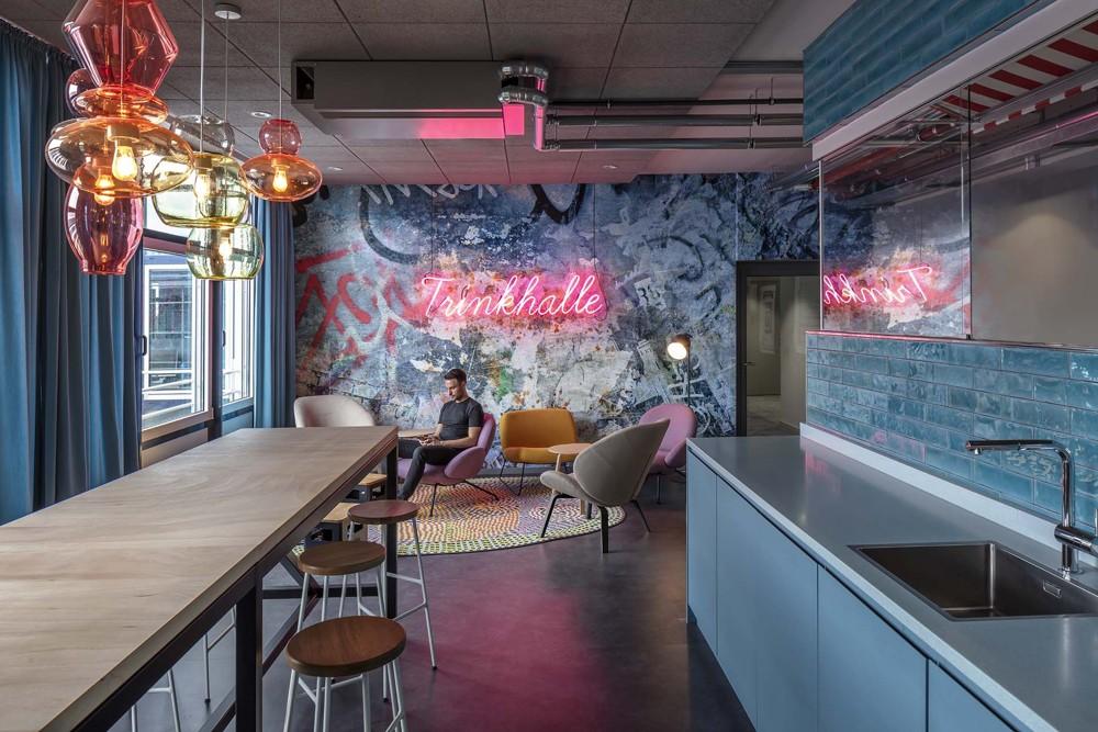 Trinkhalle für spontane Gespräche und entspannten Kaffeegenuss. Abbildung: bkp GmbH, Ralph Richter