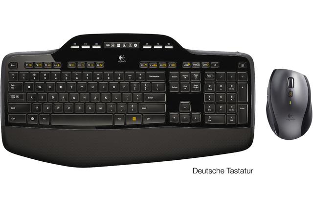 ... ein Tastatur-Maus-Set Wireless MK710 von Logitech.