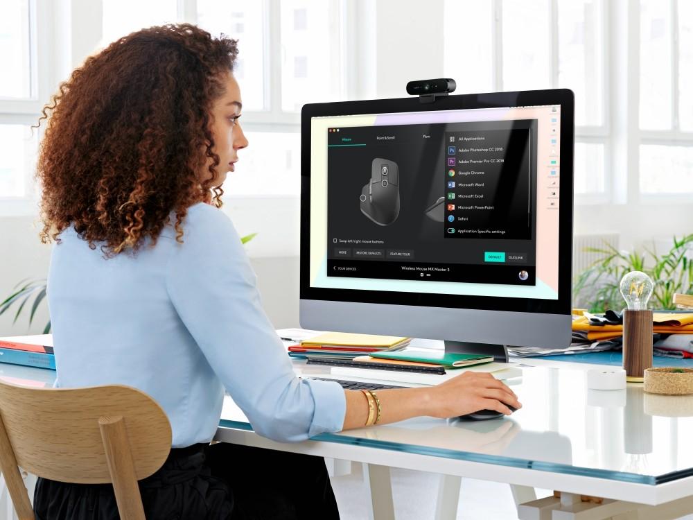 Webcam Logitech Brio.