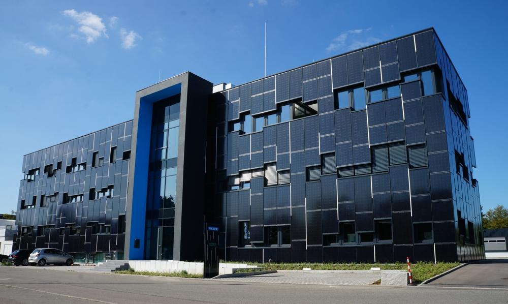 Der schwäbische Druckluft- und Pneumatikspezialist Mader hat seinen Firmensitz in Leinfelden bei Stuttgart. Abbildung: Mader GmbH & Co. KG