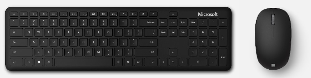 Bluetooth Keyboard & Bluetooth Mouse von Microsoft