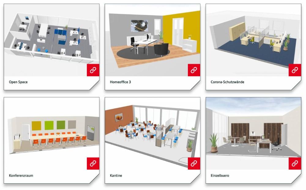 Der IBA OfficePlaner wirbt unter ibaofficeplaner.de mit einfacher Planung und professioneller Beratung. Abbildung: IBA