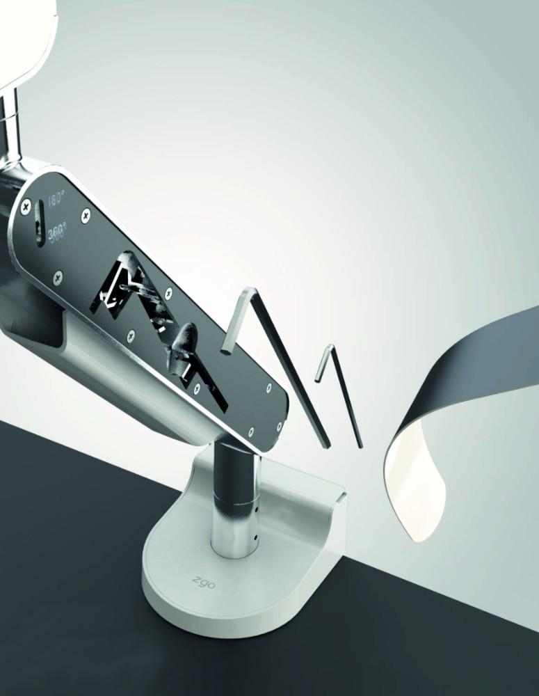 Versteckt unter den magnetischen Blenden haben Sie das passende Montagewerkzeug stets dabei. Abbildung: Bachmann