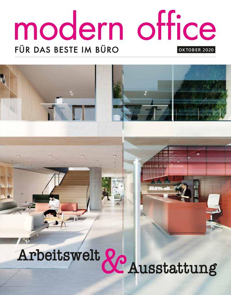 Modern Office (Oktober 2020): Arbeitswelt & Ausstattung