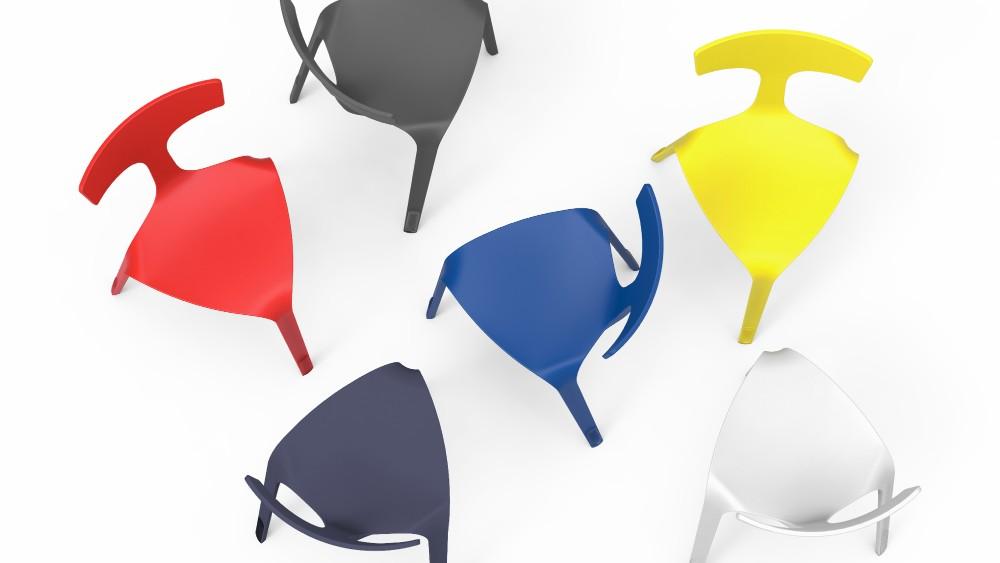 Stakki für VS Vereinigte Spezialmöbelfabriken. Abbildung: Design Ballendat