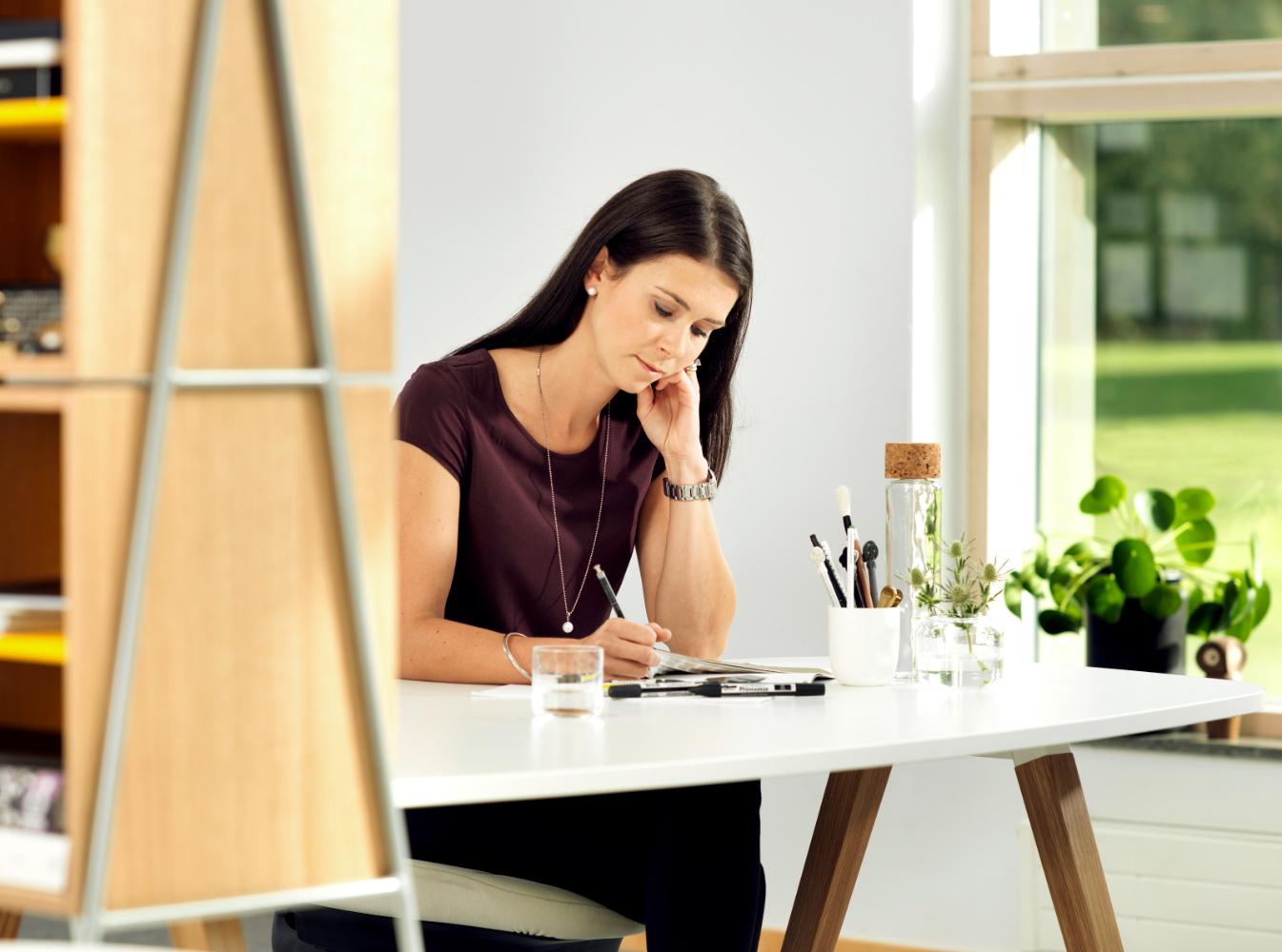Working at Home bleibt ein Dauerthema. Abbildung: Kinnarps