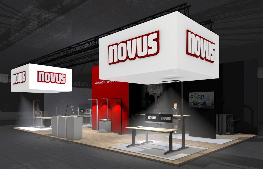 Auf seinem digitalen Messestand präsentiert Novus Dahle Produktneuheiten sowie Konzepte für einen leichteren Arbeitsalltag. Abbildung: Novus Dahle