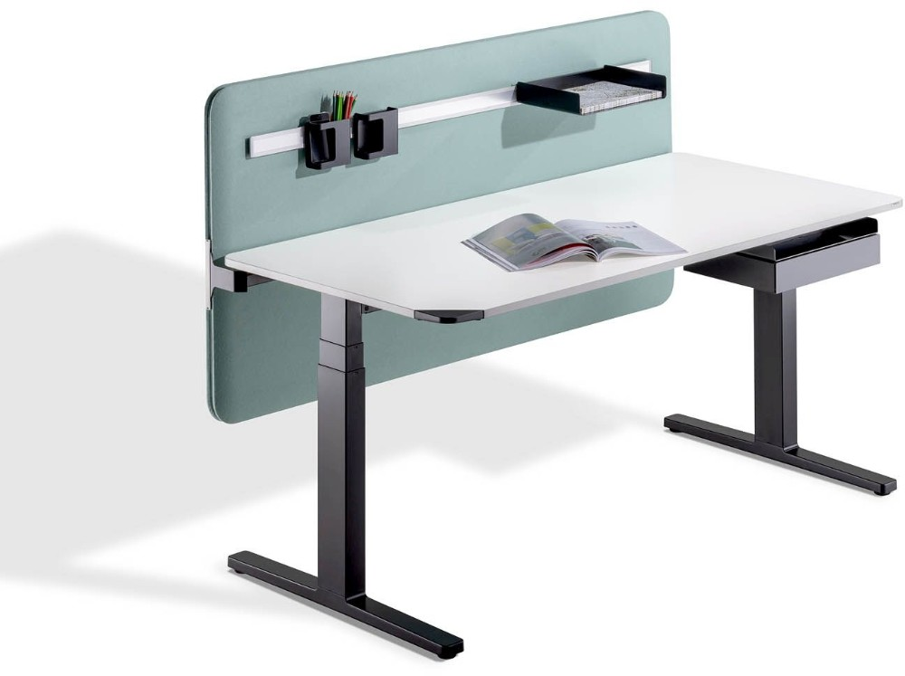 Sitz-Steh-Tisch Winea Flow von Wini Büromöbel.