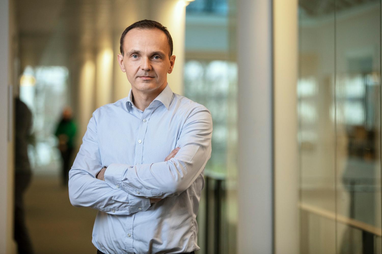 Theis Moerk, Vice President of Product Management bei Epos. Abbildung Epos