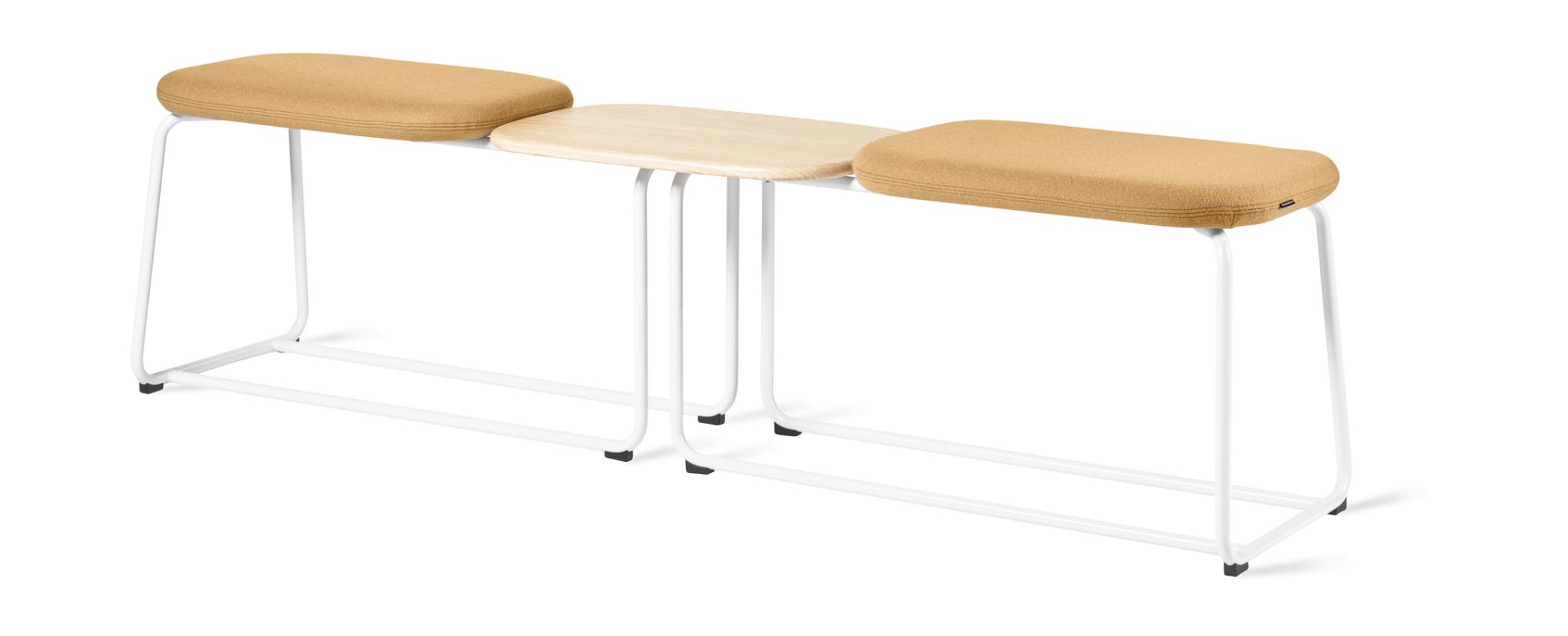 Die Sitzbank Soft Top von Skandiform wurde für ihr exzellentes Produktdesign mit dem German Design Award ausgezeichnet. Abbildung: Kinnarps
