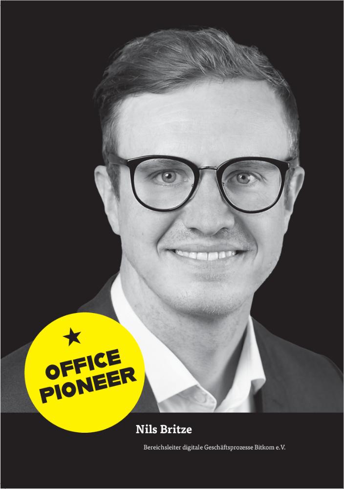 Nils Britze, Bereichsleiter digitale Geschäftsprozesse Bitkom e.V. Abbildung: Bitkom