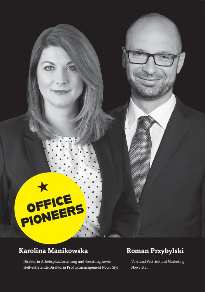 OFFICE PIONEERS Karolina Manikowska & Roman Przybylski: Arbeitswelten im Wandel. Warum wir auch künftig ein Büro brauchen