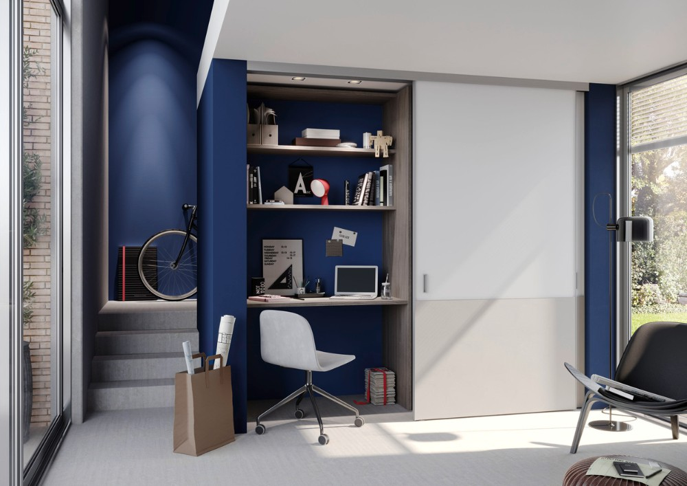 Raum-in-Raum-Einbauschrank. Abbildung: raumplus