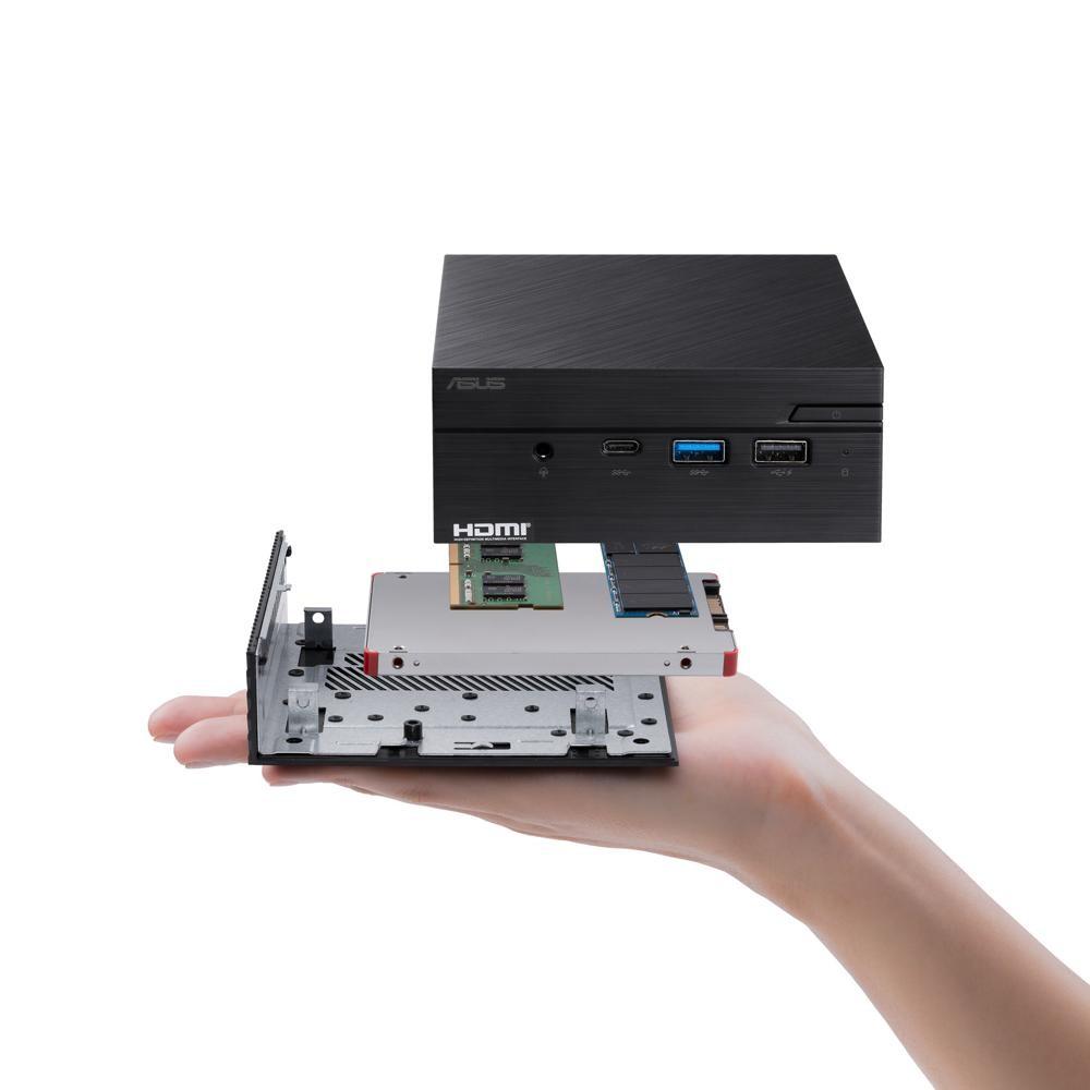 Die ASUS-Mini-PCs sind für anspruchsvolle Grafikanwendungen geeignet. Abbildung: ASUS