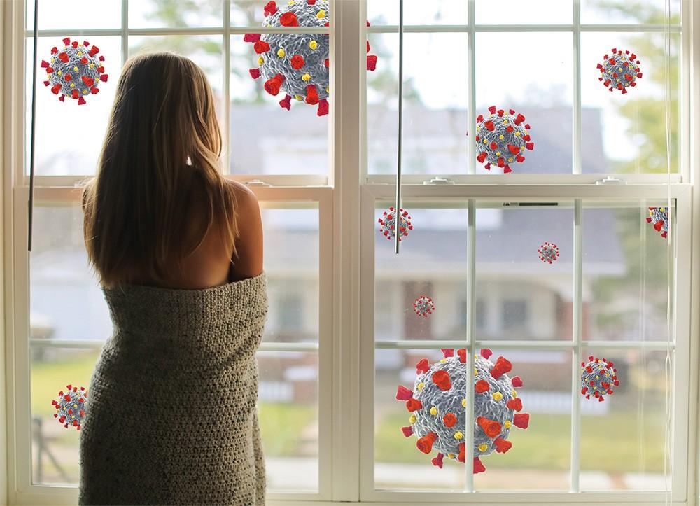 Viren und andere Mikroorganismen werden über feinste luftgetragene Flüssigkeitspartikel übertragen. Abbildung: CTI GmbH