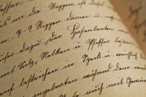 Zum Tag der Handschrift