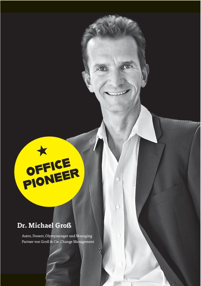Dr. Michael Groß Autor, Dozent, Olympiasieger und Managing Partner von Groß & Cie. Change Management. Abbildung: Groß & Cie.