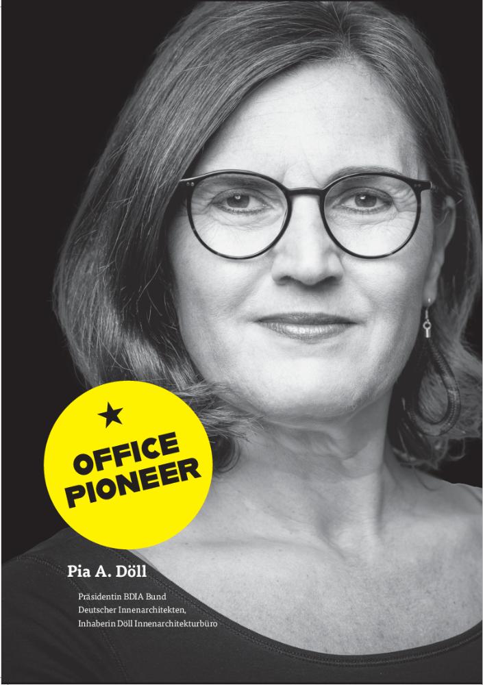 OFFICE PIONEER Pia A. Döll: Design, na und? So sehen Innenarchitekten das Büro 2030