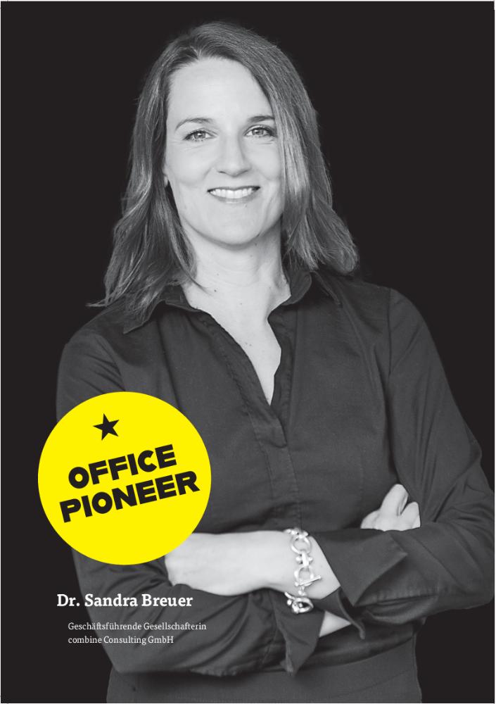 Dr. Sandra Breuer, Geschäftsführende Gesellschafterin combine Consulting GmbH, Abbildung: Marek & Beier Fotografen