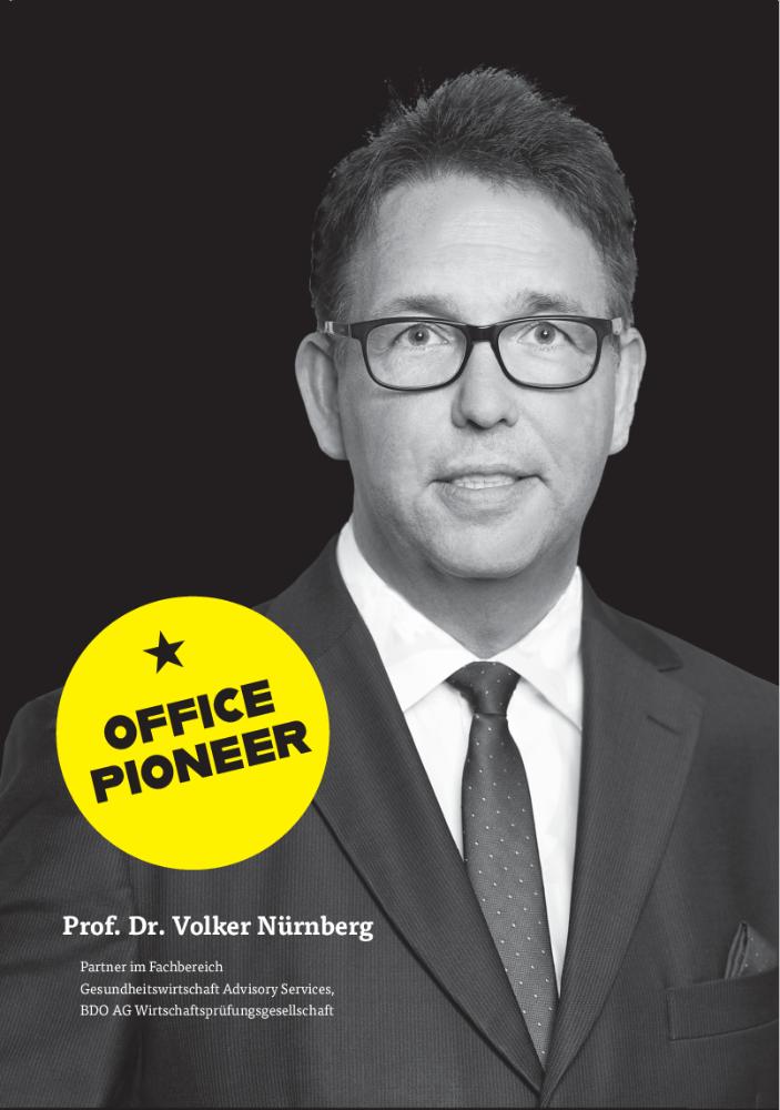Prof. Dr. Volker Nürnberg, Partner im Fachbereich Gesundheitswirtschaft Advisory Services, BDO AG Wirtschaftsprüfungsgesellschaft. Abbildung BDO
