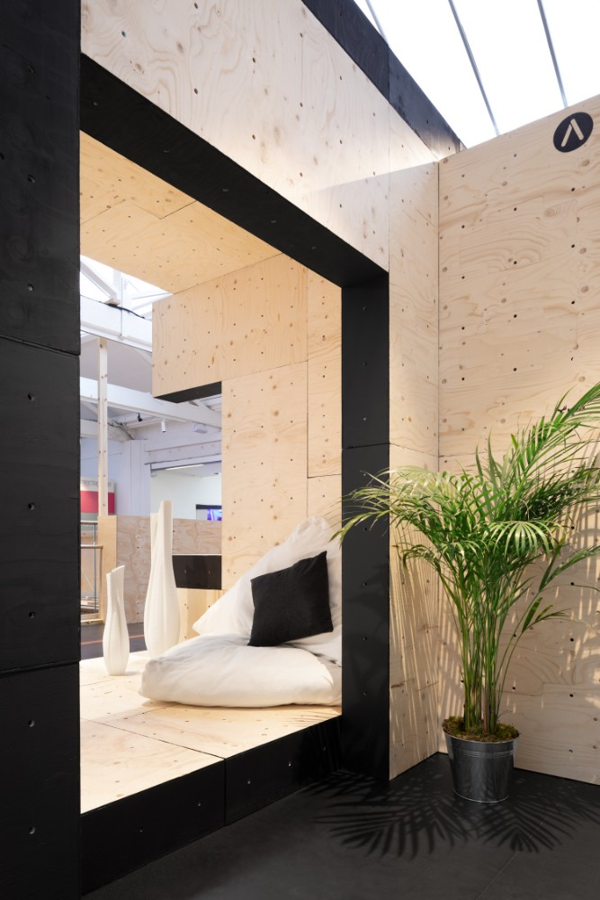 Kurze Büropause in der Lounge-Ecke. Abbildung: Studio Naaro, AUAR