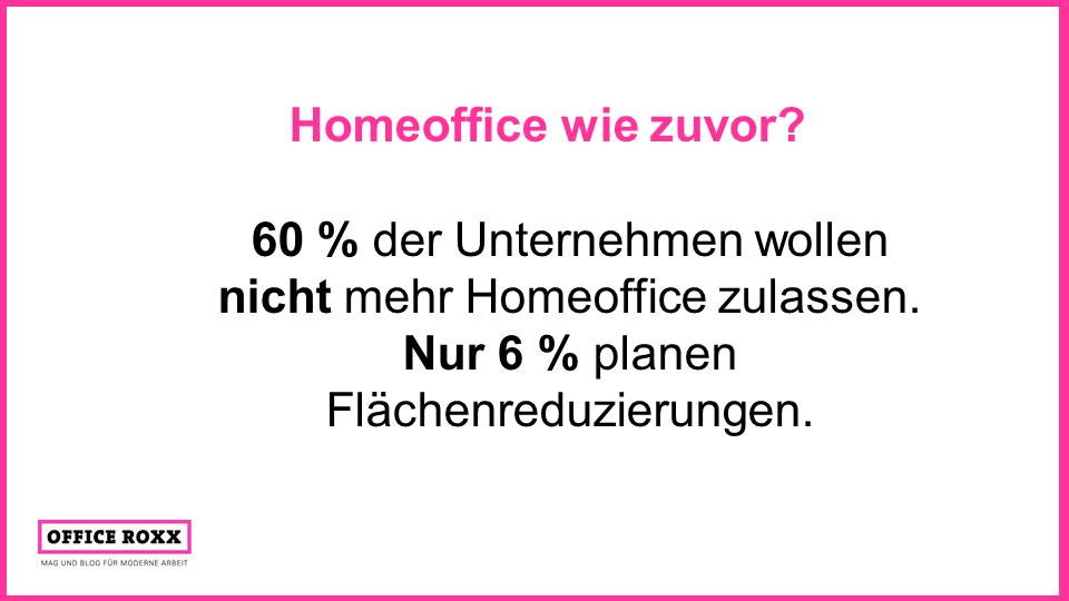 Homeoffice wie zuvor? Quelle: Institut der Deutschen Wirtschaft