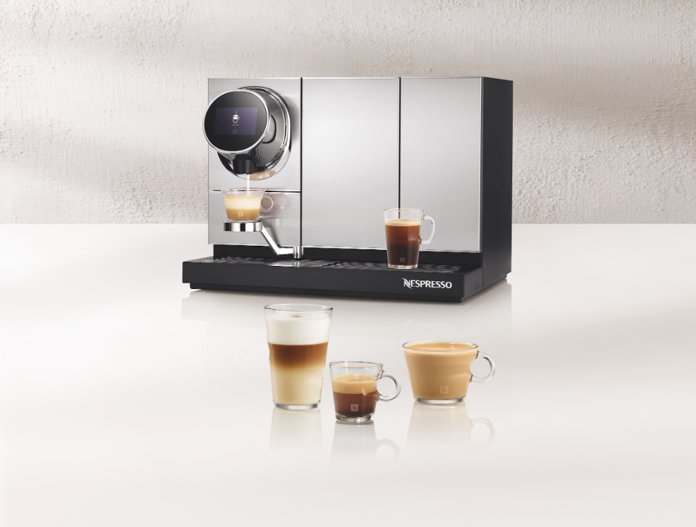 Momento Coffee & Milk von Nespresso Professional.