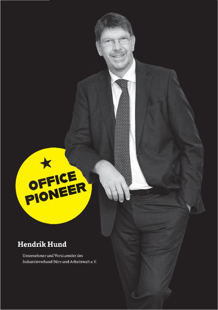 Hendrik Hund, Unternehmer und Vorsitzender des Industrieverband Büro und Arbeitswelt (IBA) e. V. Abbildung: IBA