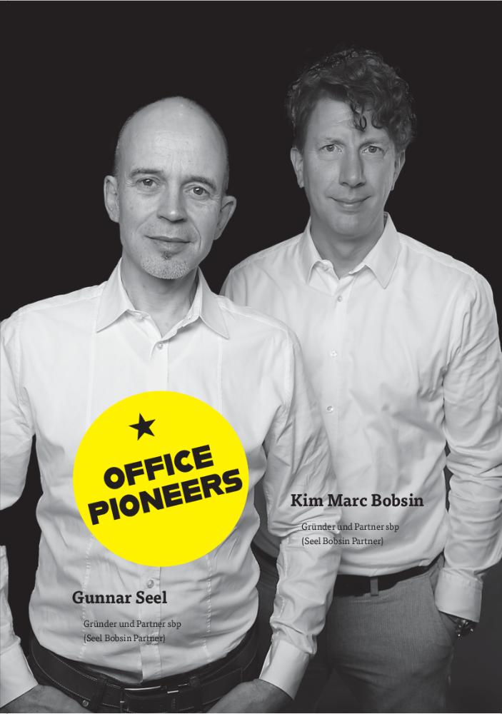 Gunnar Seel & Kim Marc Bobsin, Gründer und Partner sbp (Seel Bobsin Partner). Abbildung: sbp