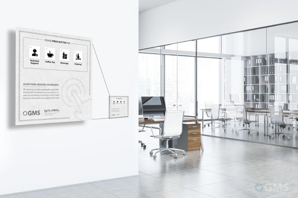 Smart Office optimiert die Raumauslastung. Abbildung: GMS Global Media Services