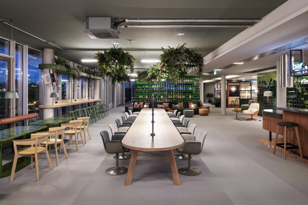Genug Raum und Platz für Coworking oder geselliges Beisammensein. Abbildung: Alexander Ludwig Obst & Marion Schmieding