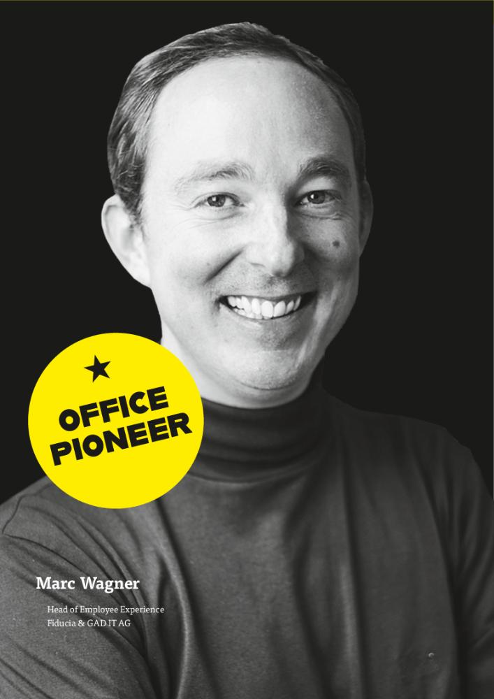 Marc Wagner, Head of Employee Experience Fiducia & GAD