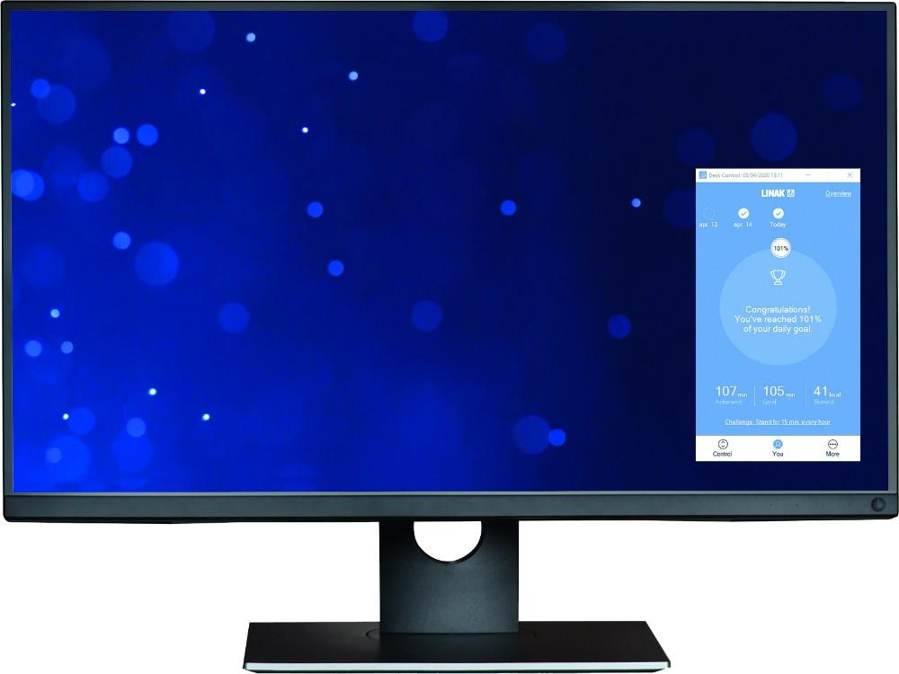 Desk Control App von Linak.