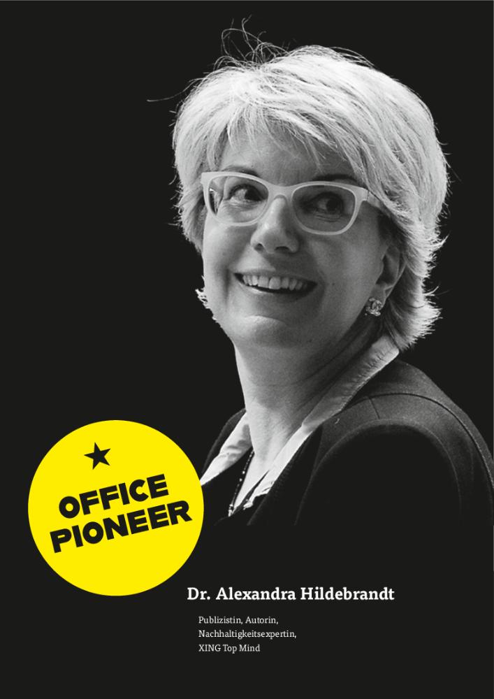 Dr. Alexandra Hildebrandt Publizistin, Autorin, Nachhaltigkeitsexpertin und XING Top Mind. Abbildung: Nicole Simon Photography