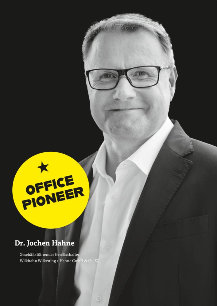 Dr. Jochen Hahne, Geschäftsführender Gesellschafter Wilkhahn Wilkening + Hahne GmbH & Co. KG. Abbildung: Wilkhahn