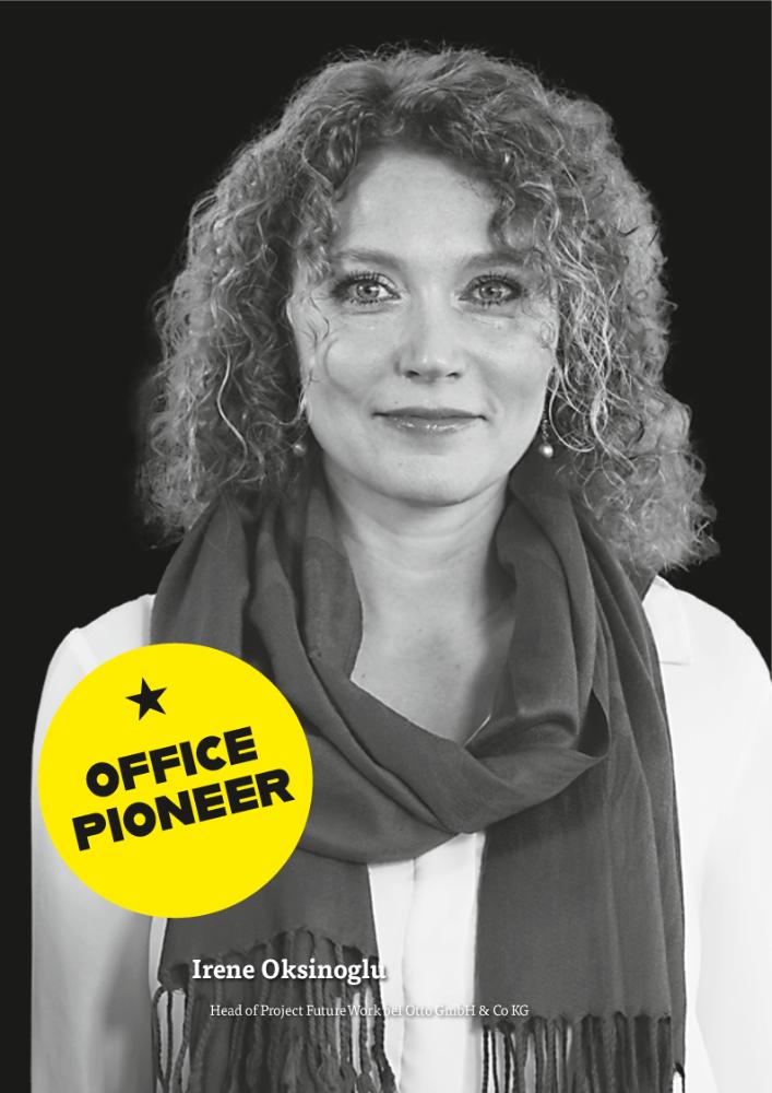 Irene Oksinoglu, Head of Project FutureWork bei Otto GmbH & Co KG. Abbildung: Otto