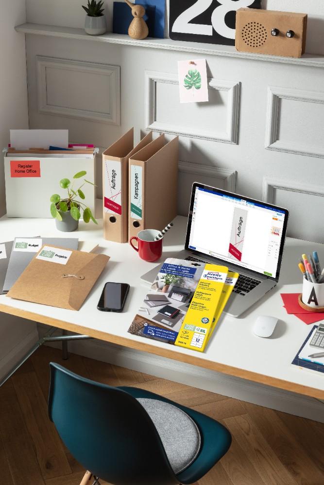 Office & Home-Sortiment von Avery Zweckform.