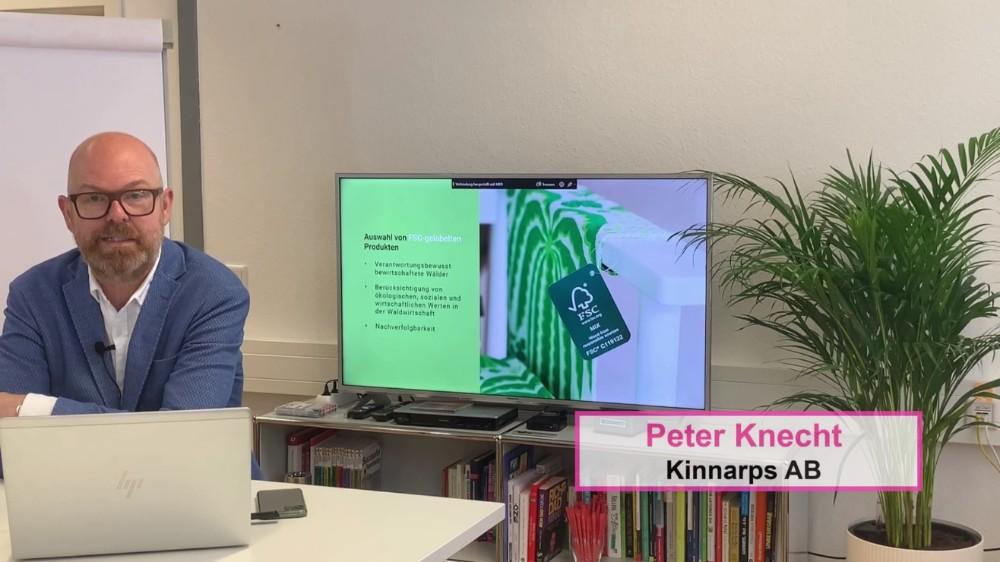 The Better Effect: ein Vortrag von Peter Knecht, Head of International Concepts bei Kinnarps.