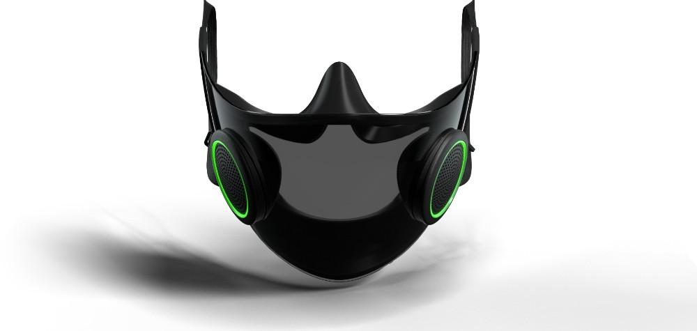 Projekt Hazel: Die smarte Maske von Razer. Abbildung: Razer