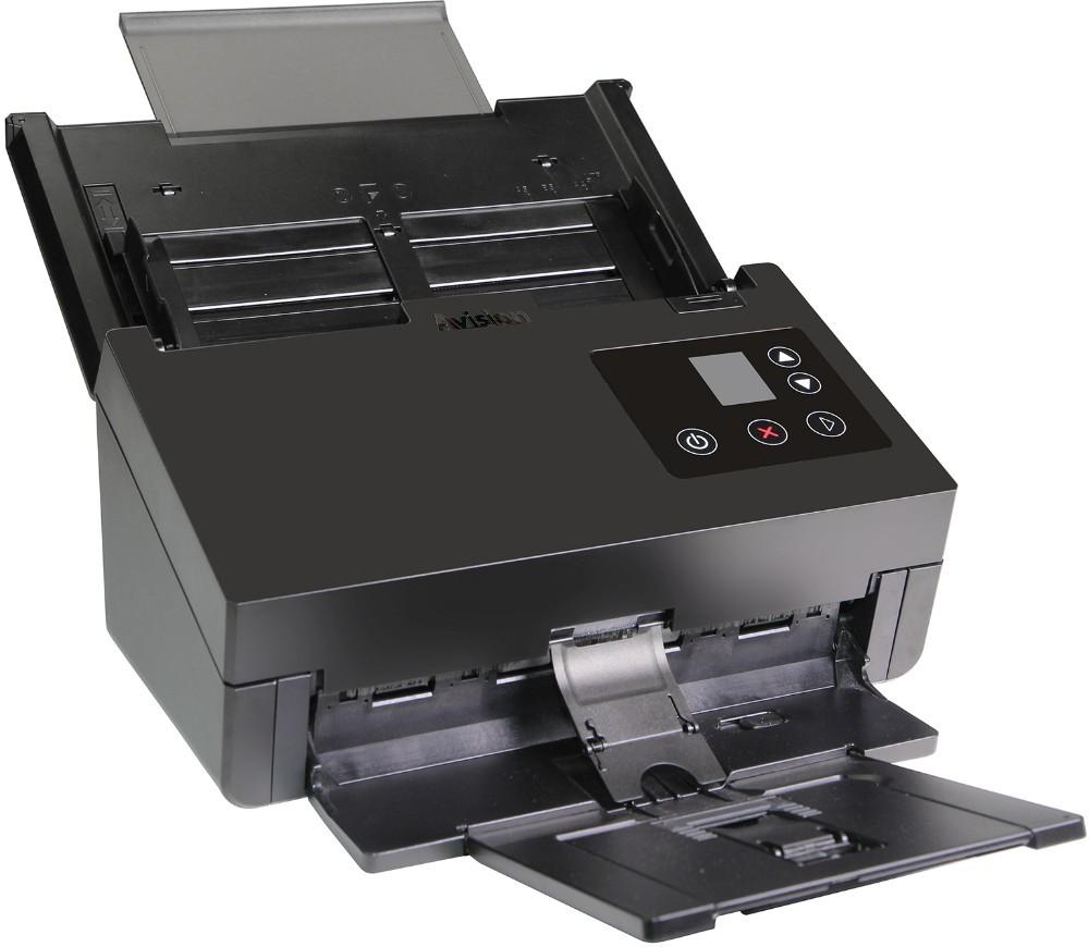 Aktuelles Modell eines Dokumentenscanners: der AD370WN von Avision. Abbildung: Avision