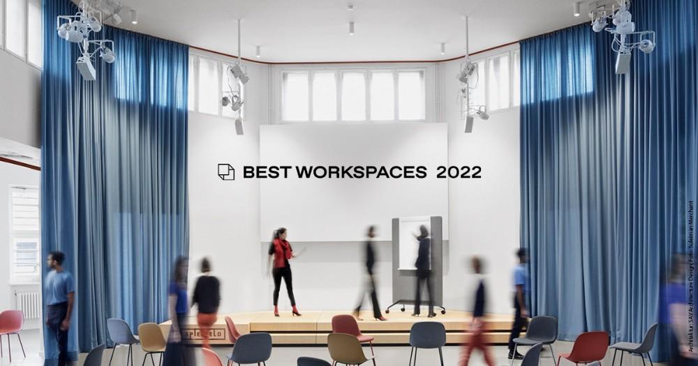 Der Award Best Workspaces geht in die zweite Runde. Abbildung: Suleiman Merchant