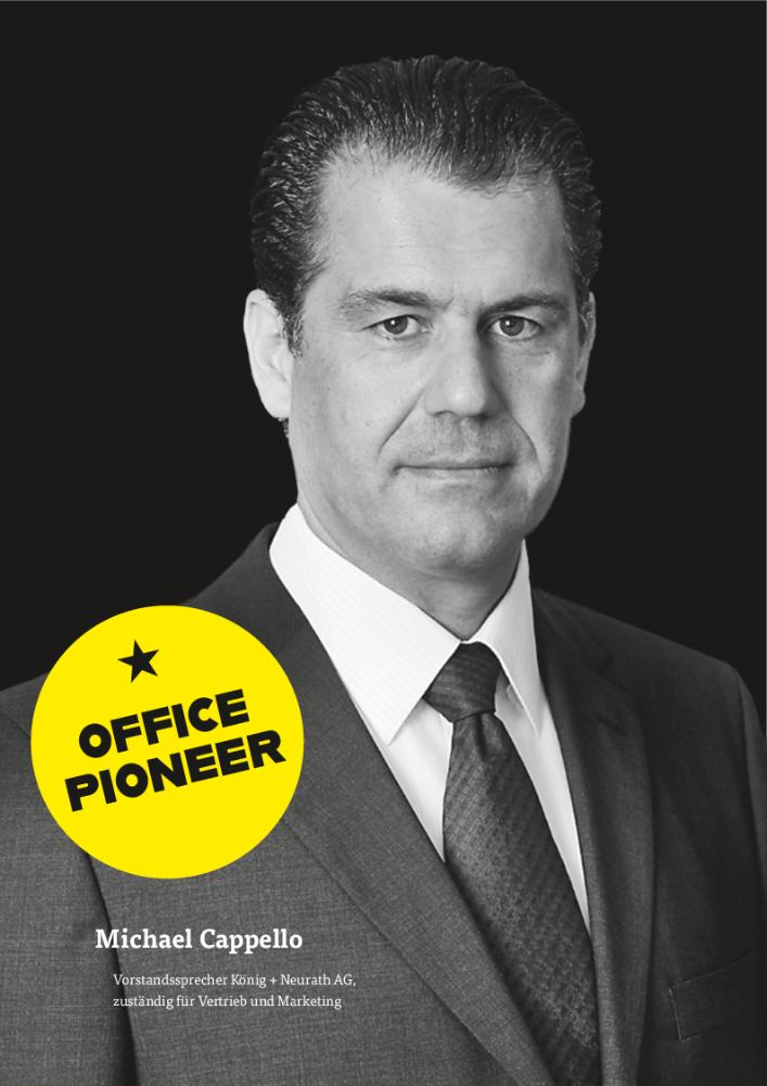 Michael Cappello, Vorstandssprecher König + Neurath AG, zuständig für Vertrieb und Marketing. Abbildung: König + Neurath